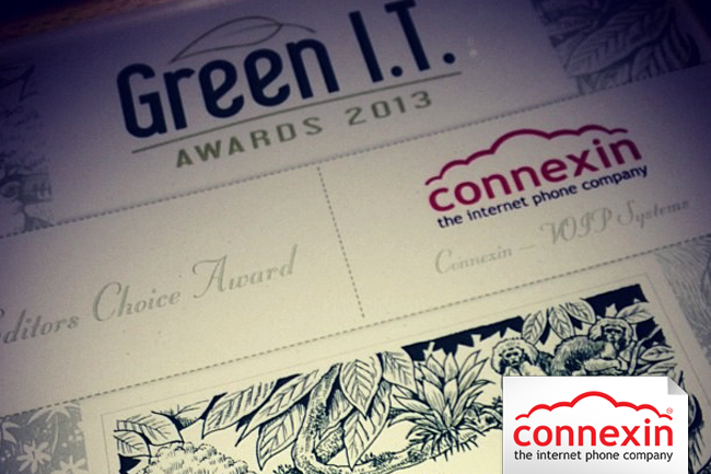 Connexin wins green award for helping companies reduce greenhouse gases