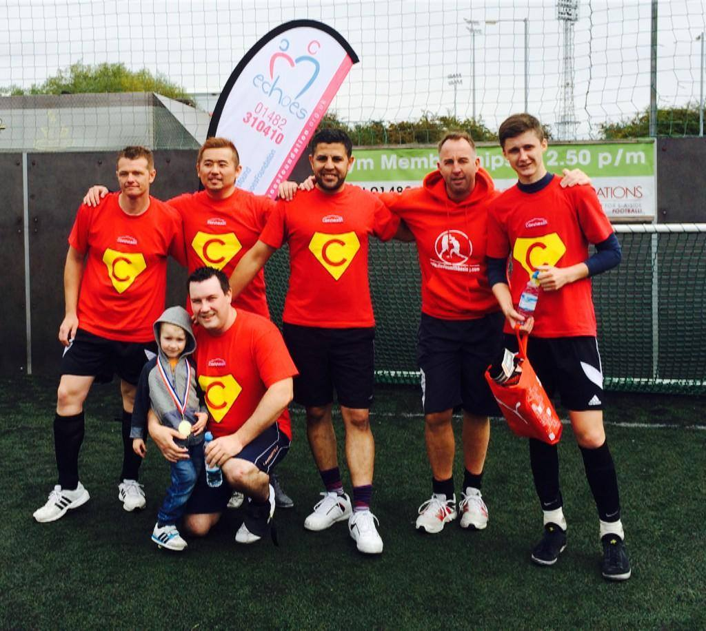 Connexin competes in charity 5-aside match in support of local charity